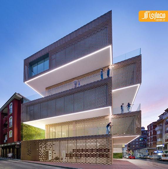 معماری و طراحی موزه و مرکز فرهنگی La Gota-Tabacco
