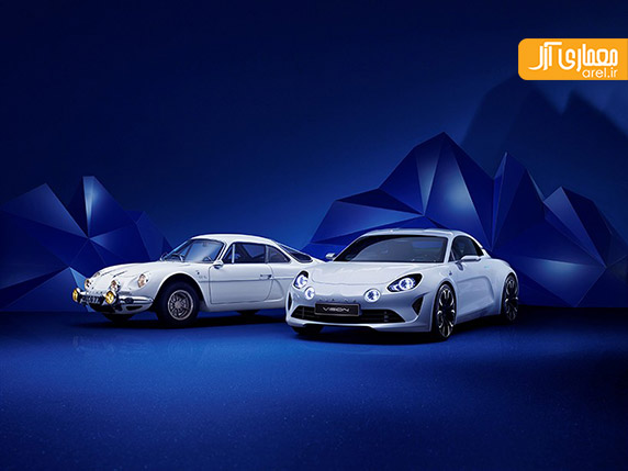 طراحی خودرو،رنو،آلپاین،طراحی صنعتی،خودروهای سوپراسپرت