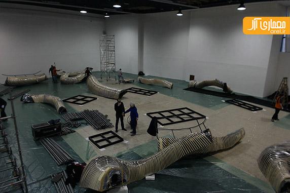 جریان شگفت انگیز، اثری از تویو ایتو، معمار ژاپنی