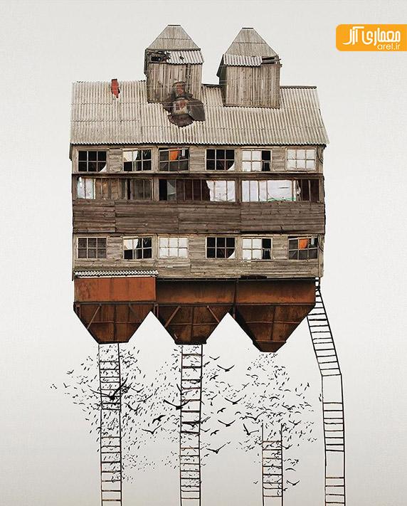 معماری خانه ها در شهرهای مختلف دنیا