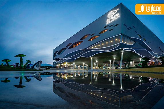 معماری آکواریوم بزرگ آنتالیا