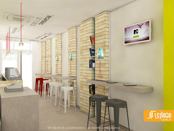 طراحی داخلی کافه،دکوراسیون داخلی کافی شاپ