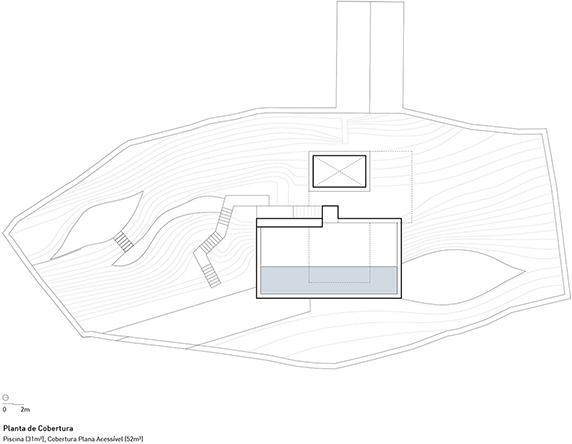 معماری و طراحی داخلی ویلا بر روی تپوگرافی منطقه ی کوهستانی شمال پرتغال