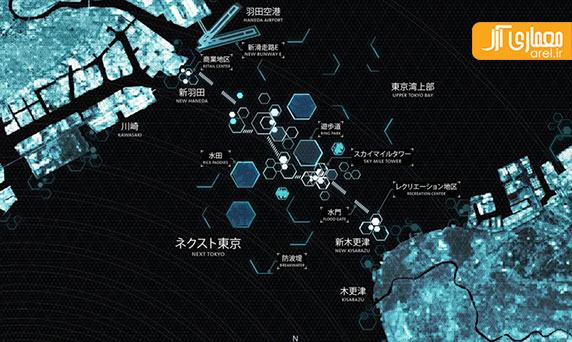 معماری اکوتک: طراحی شهر پایدار توکیو دیگر