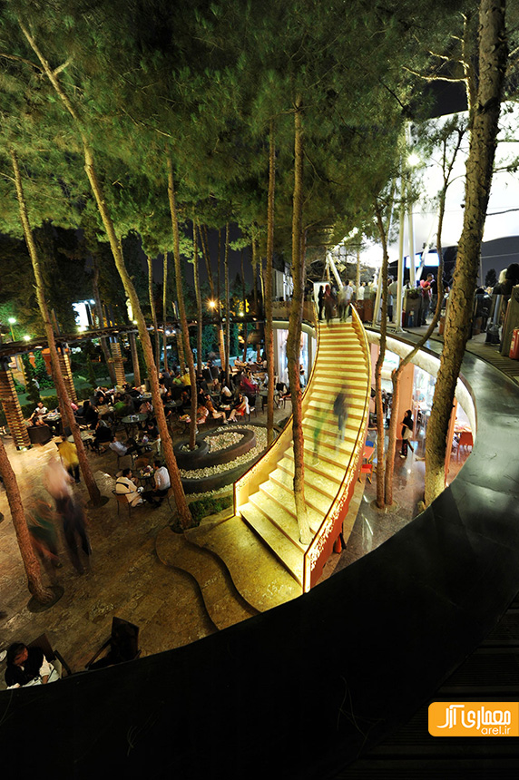 طراحی فوت کورت،طراحی رستوران،محمدرضا نیکبخت