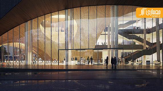 طراحی ساختمان کتابخانه،معماری کتابخانه