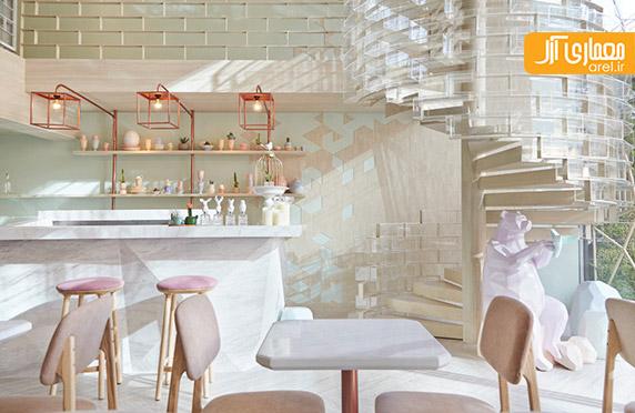 طراحی داخلی کافی شاپ،دکوراسیون کافه