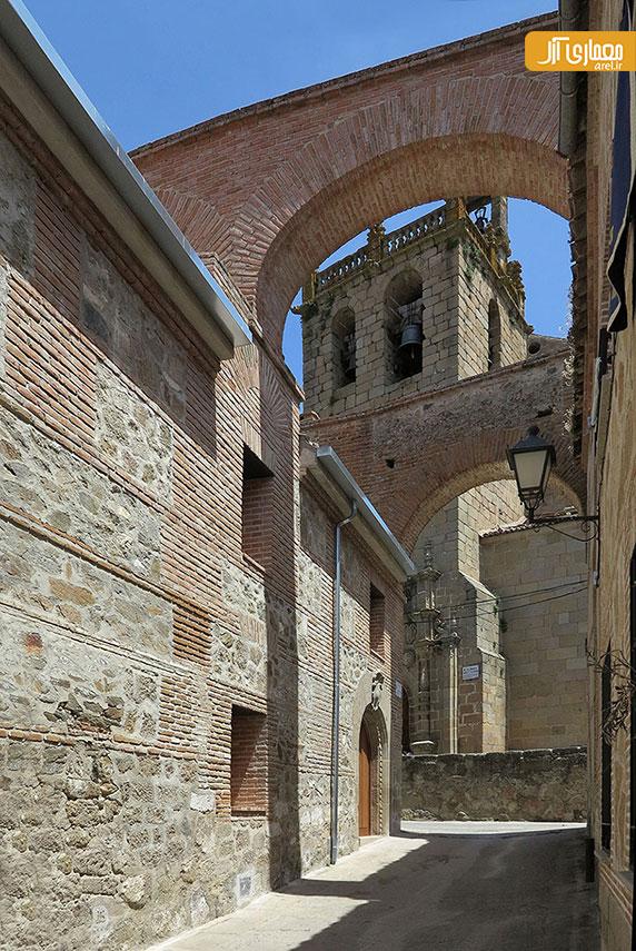 بازسازی خانه های قرن 15 میلادی در اسپانیا