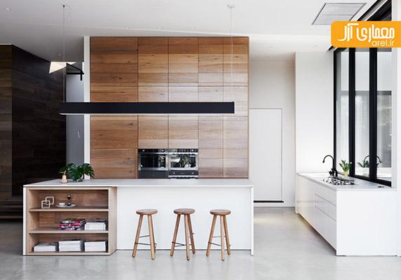 بازسازی و طراحی داخلی خانه ی ویلایی