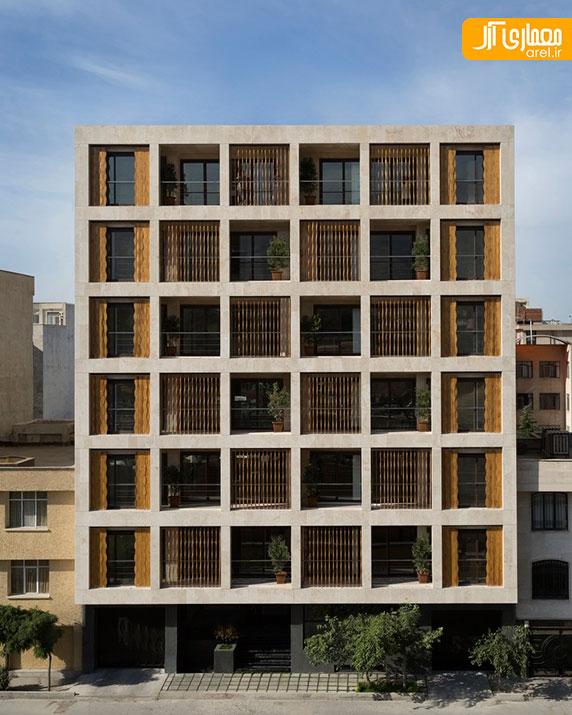 معماری و طراحی مجتمع مسکونی صبا توسط ساراکلانتری و رضا صیادیان