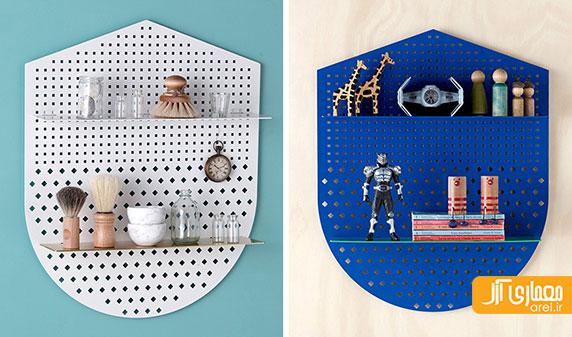 کلکسیون جدید شلف های فلزی از شرکت Bride & Wolfe