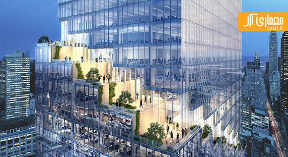 طراحی برج اداری نیویورک توسط گروه معماری بیگ