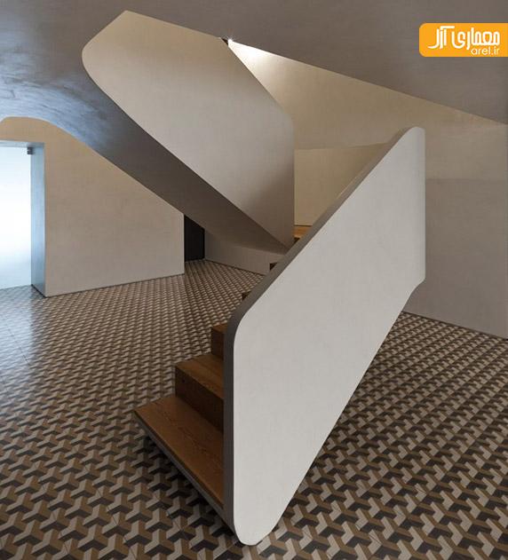 طراحی راه پله خلاقانه،طراحی راه پله معمارانه