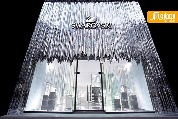 طراحی داخلی مغازه،دکوراسیون فروشگاه جواهرات