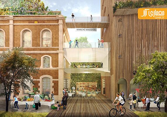 برج باغ،معماری برج باغ،معماری آینده شهر پاریس