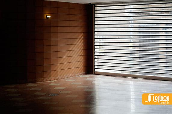 معماری ساختمان مسکونی،طراحی نمای آجری،محمدرضا نیکبخت