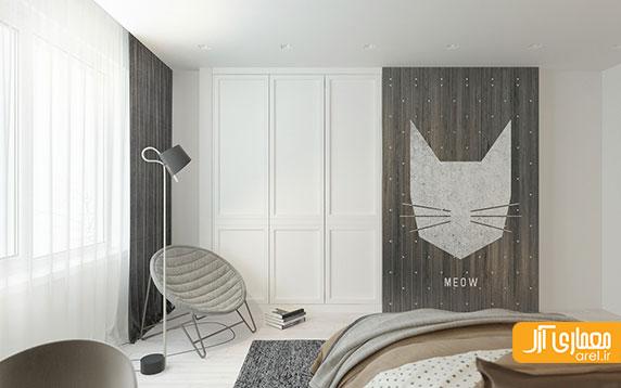 طراحی داخلی 2 اتاق کودک مدرن مناسب فصل بهار
