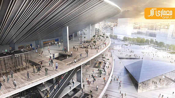 طراحی جدید استادیوم نیوکمپ بارسلون از بین 4 فینالیست اعلام شد