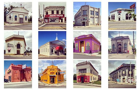 دوسالانه ونیز: کارت پستال های غرفه ی آمریکا از شهر دیترویت