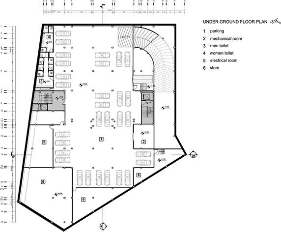 طراحی و معماری مجتمع چند منظوره ی امام رضا از استودیوی معماری کلوت