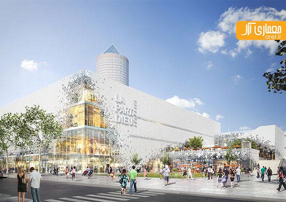 معماری جدید گروه MVRDV: طراحی مرکز خرید PART DIEO