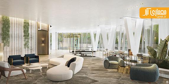 معماری و طراحی داخلی برج پارک میامی از رم کولهاس