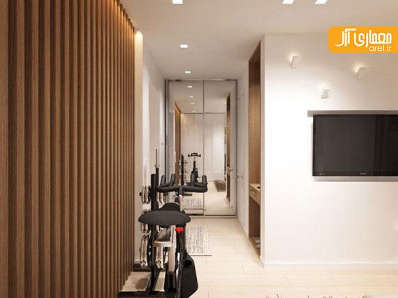 طراحی داخلی 4 آپارتمان کوچک با مساحت زیر 30 متر مربع به همراه پلان