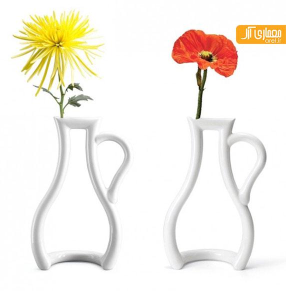بخش دوم: معرفی 25 مدل طراحی گلدان جذاب و خلاقانه