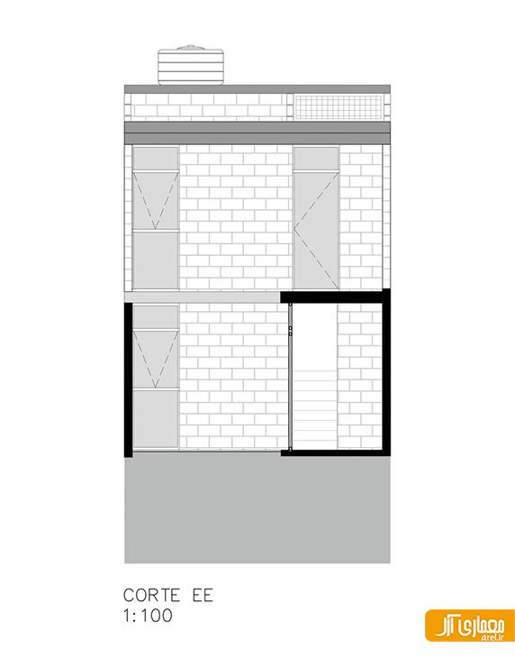 معماری و طراحی داخلی خانه Matilde