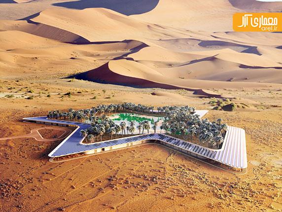 معماری اکوتک: طراحی پایدارترین مجتمع مسکونی دنیا در امارات متحده عربی