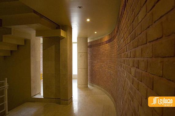 معماری و معماری داخلی ساختمان مسکونی دروس، فرامرز شریفی