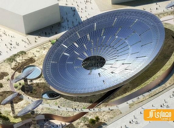 غرقه های طراحی شده توسط فاستر، بیگ و گریمشاو برای اسکپو 2020 دبی