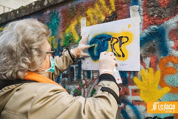 گرافیتی،نقاشی شهری،نقاشی خیابانی