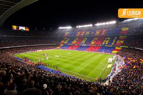 طراحی جدید استادیوم نیو کمپ بارسلون از بین 4 فینالیست اعلام شد