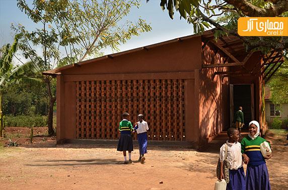 معماری زمینه گرا: طراحی کتابخانه ی کودکان با همکاری خود مردم منطقه ی تانزانیا