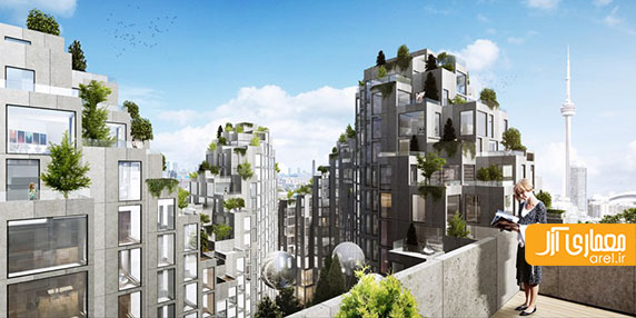 توسعه ی خط بام شهر تورنتو با طراحی مجتمع چند منظوره از گروه معماری بیگ