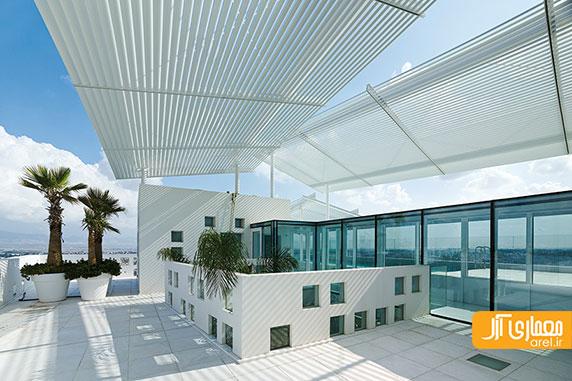 """طراحی مجتمع مسکونی """" دیوار های سفید """" توسط ژان نوول"""