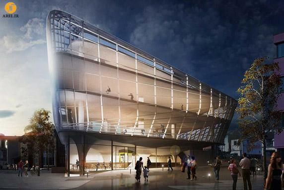 معماری ورزشگاه،معماری مجموعه ی ورزشی،طراحی ورزشگاه،طراحی مجموعه ی ورزشی