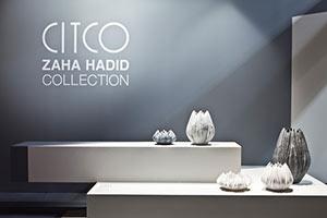 زاها حدید، طراحی گلدان، مجموعه ی CITCO