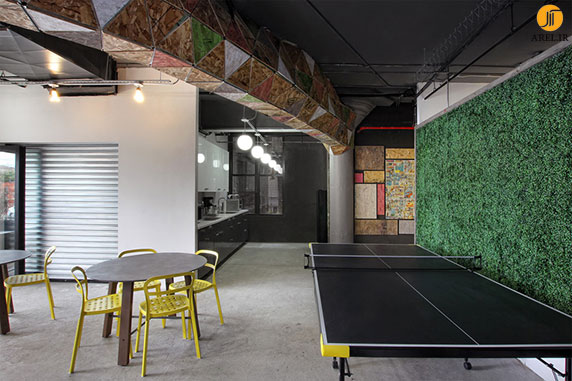 بازسازی،طراحی داخلی دفتر کار