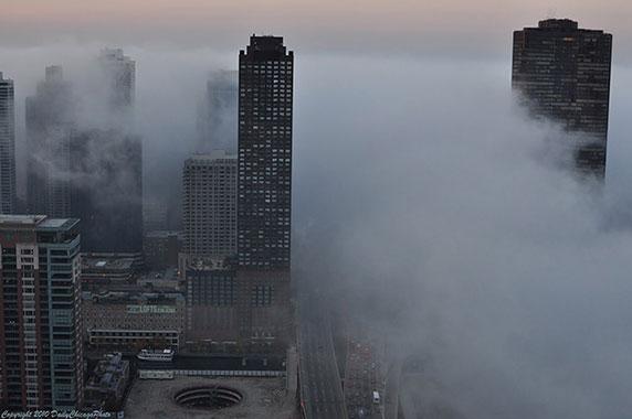 مناظر مه آلود