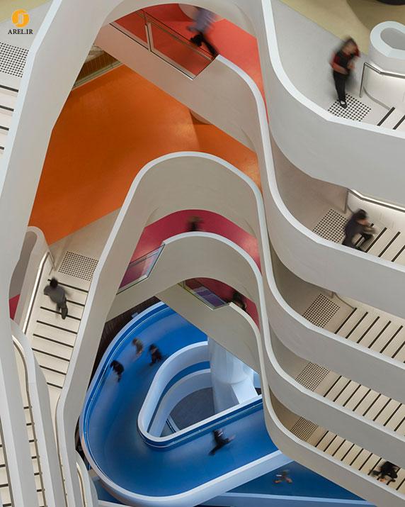 طراحی و معماری ساختمان شرکت بیمه