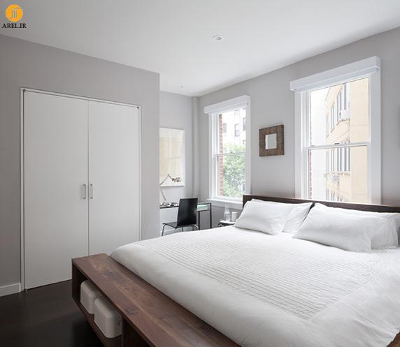 طراحی داخلی و بازسازی آپارتمان دوبلکس