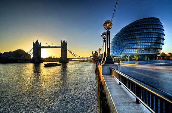 تماشای طلوع و غروب خورشید در شهرهای مختاف جهان