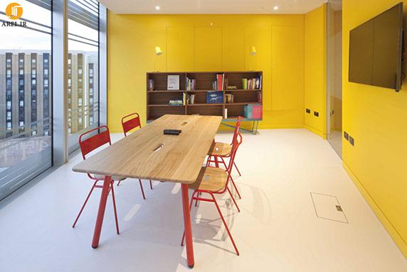 طراحی داخلی با استفاده از رنگ زرد