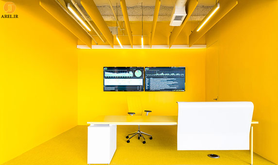 دکوراسیون داخلی با رنگ زرد