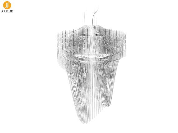 طراحی لوستر، زاها حدید