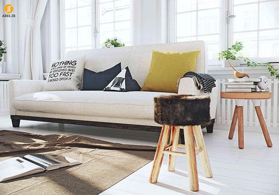 طراحی داخلی 3 آپارتمان با رنگ سفید و با سبک های متفاوت
