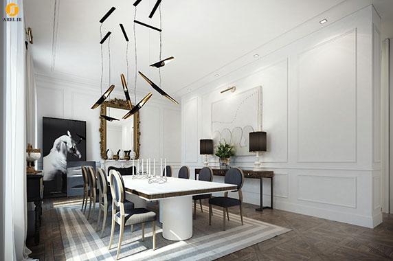 دکوراسیون داخلی 3 آپارتمان با رنگ سفید و با سبک های متفاوت