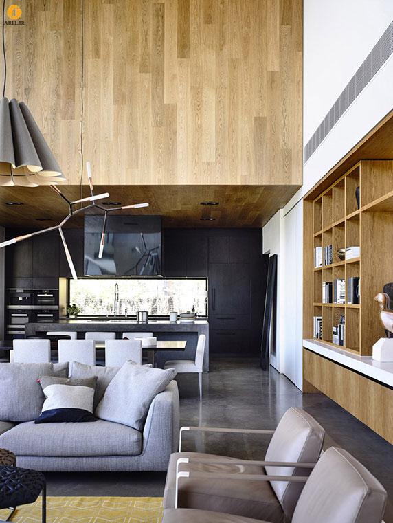 طراحی و معماری ساختمان بتنی